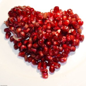 Macro: Pomegranate Heart
