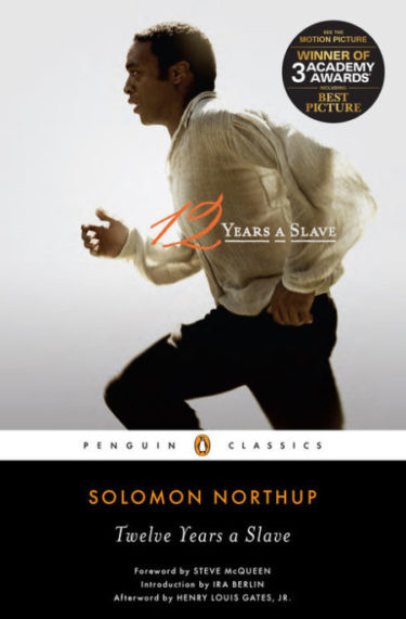 12 Years A Slave - January Book of the Month