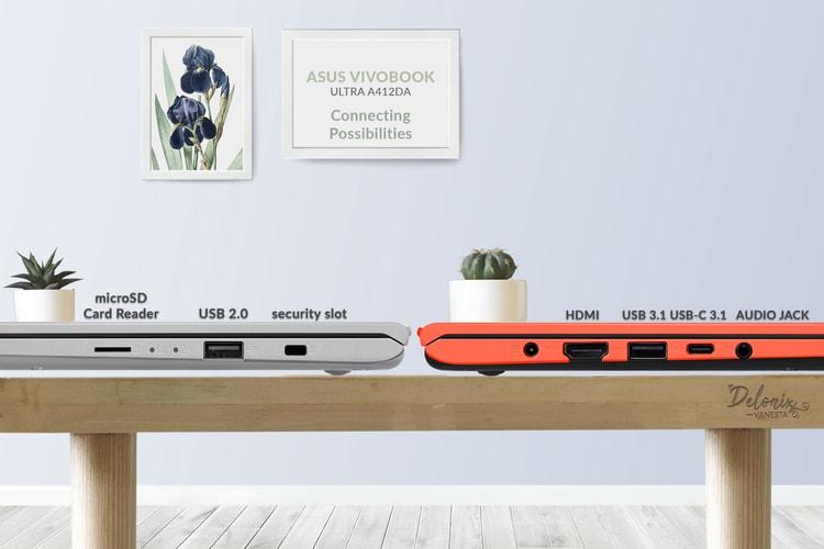 ASUS VivoBook Ultra A412DA - I/O Port
