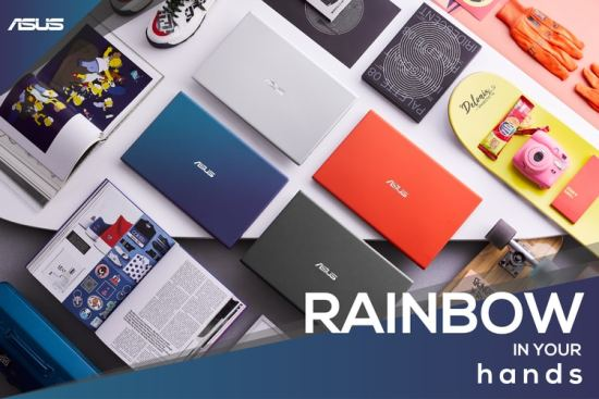 Asus VivoBook Ultra A412DA: Rainbow in Your Hands