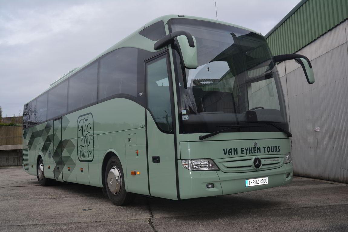 Nieuwe Bus Van Eyken Tours 2017
