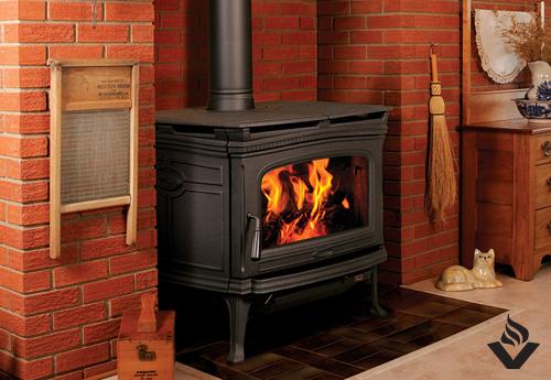 PACIFIC ENERGY Alderlea T6 Wood Stove  Vancouver Gas Fireplaces