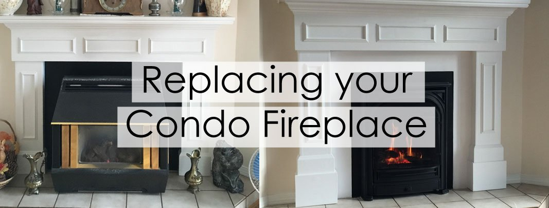 Replacing Your Condo Fireplace