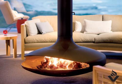 FOCUS FIRES Gyrofocus Fireplace  Vancouver Gas Fireplaces