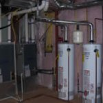 Double Furnaces w/ Humidifiers & Double Hot Water Heaters