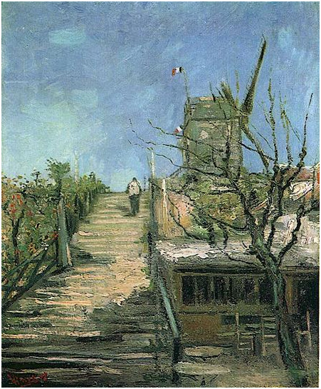 Windmill On Montmartre By Vincent Van Gogh 769 Painting