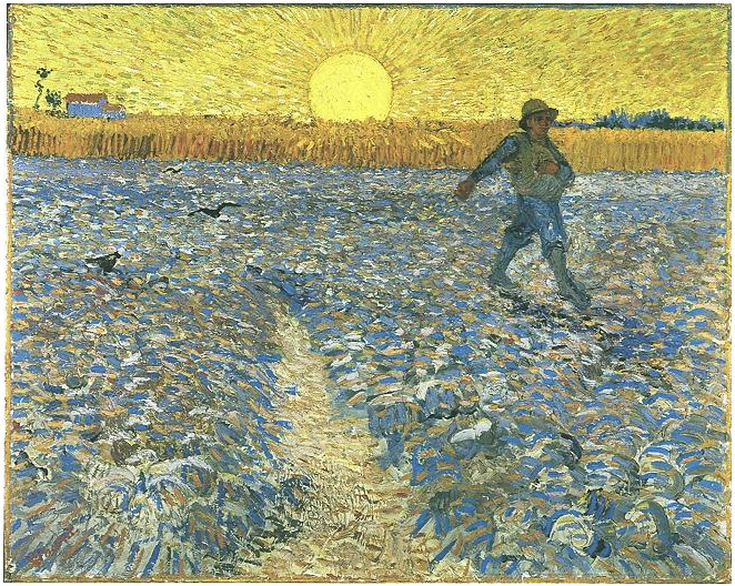 Sorrow Wallpapers With Quotes Sower The By Vincent Van Gogh 501 Painting