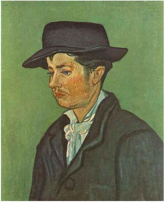 Van Gogh Sunday!: Portrait of Armand Roulin - Arles. November-December 1888