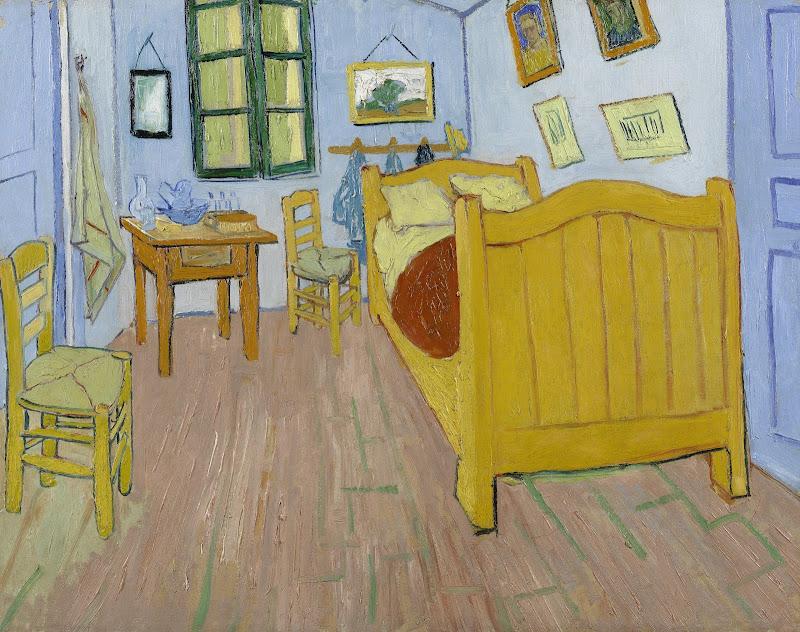 the bedroom - van gogh museum