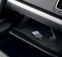 VW T5 Media in unit
