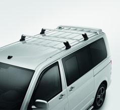 VW T5 Roof bar set