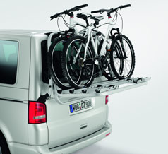 VW T5 Tailgate bicycle holder