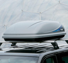 VW T5 Thule Pacific 100 roofbox