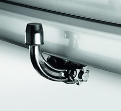 VW T5 Towbar - detachable swan neck