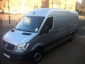 Mercedes Sprinter with low mileage
