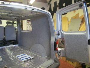 VW T5 Insulation Fitted