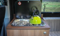 Campervan Smev 2 Burner stove and Lime Kettle
