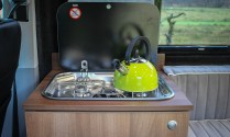 Campervan Smev 2 Burner stove and Lime Kettle