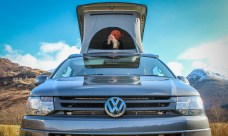 VW T5 Highline Campervan fitted with SCA 190Comfort pop top roof and front elevating
