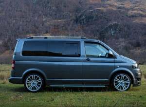VW T5 Privacy Windows Opening