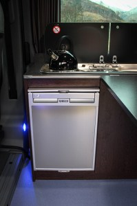 Campervan Refridgerator Waeco CR50 Fridge in Silver
