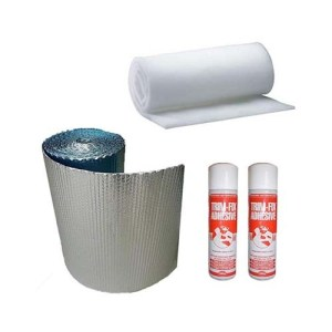 Campervan Insulation Kit - Keeps you warm in the winter and cool in the summer