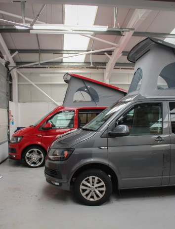 VW T6 with the SCA High Roof