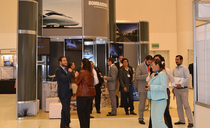 La canadiense Bombardier, con presencia en Querétaro estará presente en Aerospace Meetings Central América. (Foto: VI).