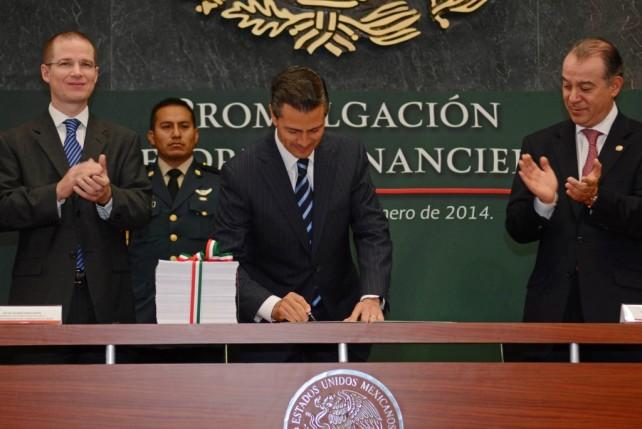 La Reforma Financiera será un motor para el desarrollo del campo, la innovación y la infraestructura. (Foto: Presidencia)