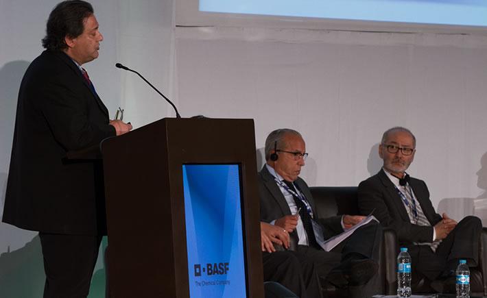 Ted Kawashima, jefe de la oficina Norteamérica de la asociación de autopartes de Japón, informó que ese país incrementará sustancialmente la producción de las fábricas de origen nipón en México. (Foto: Al Volante).