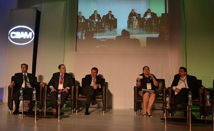 Verónica Orendain, directora General de Industrias Pesadas y Alta Tecnología de la SE, señaló que la dependencia también desea ver que la industria sea para 2020 una plataforma avanzada. (Foto: VI).