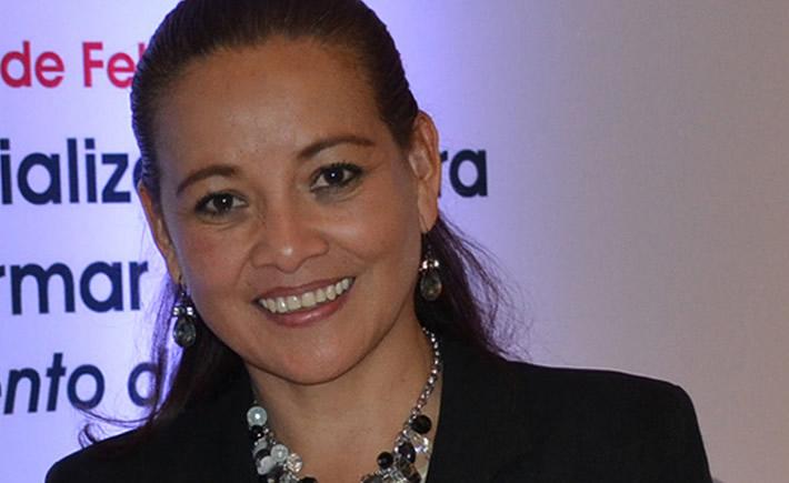 Faustina García Reyes impulsa desde la Canacintra el desarrollo del sector manufacturero. (Foto:  Enrique Octavio Fernández).