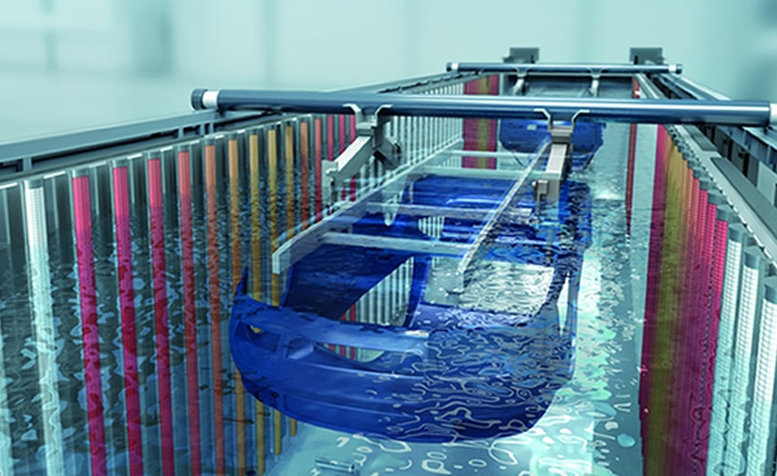 La nueva tecnología de Dürr permite reducir el consumo de materiales y energía. (Foto: Dürr)