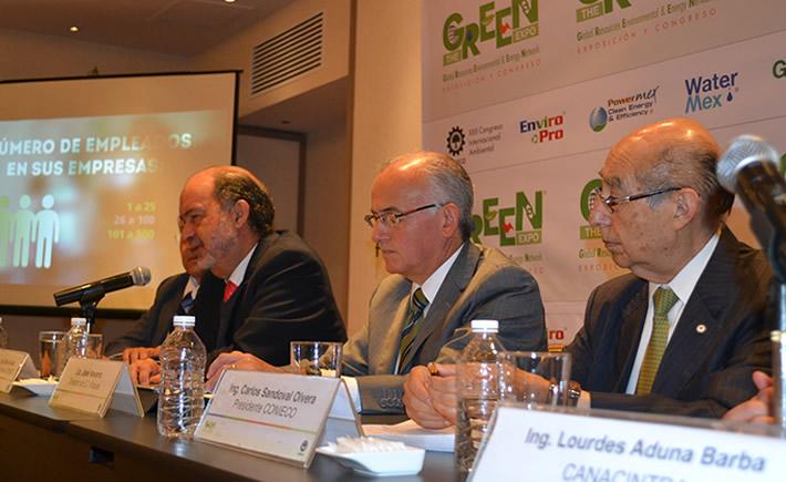 The Green Expo 2014 reúne a más de 250 empresas para presentar soluciones tecnológicas en el cuidado del medio ambiente. (Foto: VI)