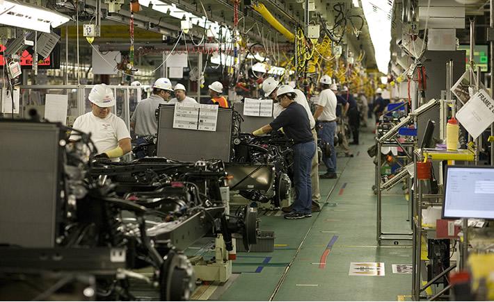 La producción nacional de autos llegó a 271,406 unidades, que representa un crecimiento de 4.7% respecto a agosto del año anterior. (Foto:Toyota)