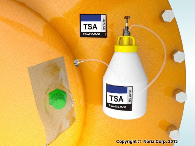 Ilustración 2 - Identificación de lubricantes y puntos de lubricación mediante LIS™