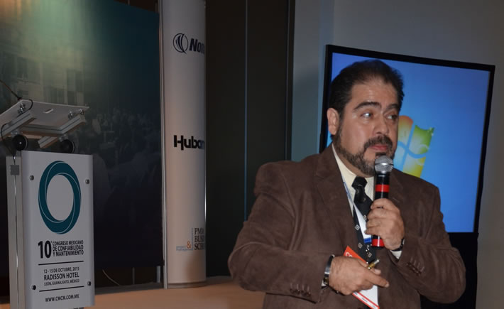 Jorge Mario García Manzano, gerente de Mantenimiento de General Motors (GM), planta Ramos Arizpe. (Foto: VI)