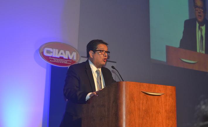 Óscar Albín Santos, presidente Ejecutivo de la INA. (Foto: Vanguardia Industrial)