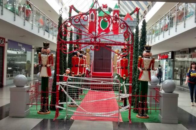 Decoracion Navidad Centros Comerciales Atrium At Aeon