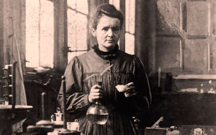 Marie Curie,.