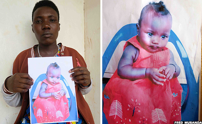 The four months' baby kidnapped from church still lost ...