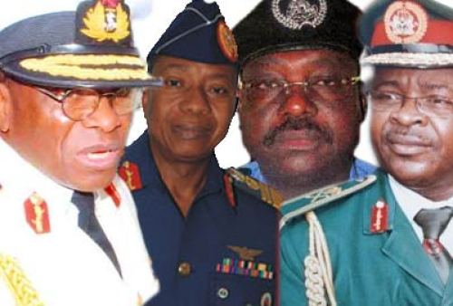 Buhari meets security chiefs 24 hours after promising hell for Boko Haram