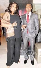 Cassandra Lewis and Moses Akeke