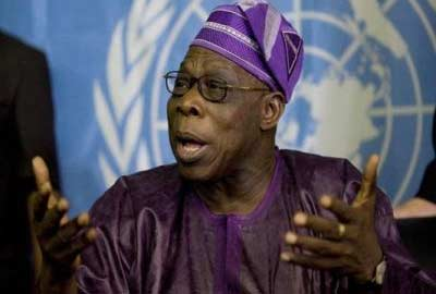 Chief Olusegun Obasanjo signed the green tree agreement