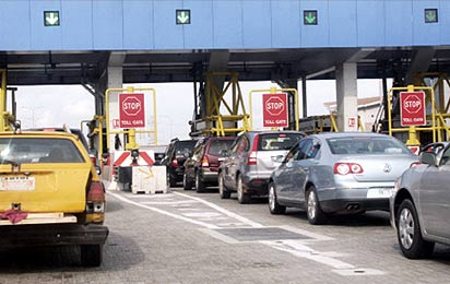 The Lekki-Epe Toll gate