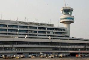 Lagos Airport, Buhari