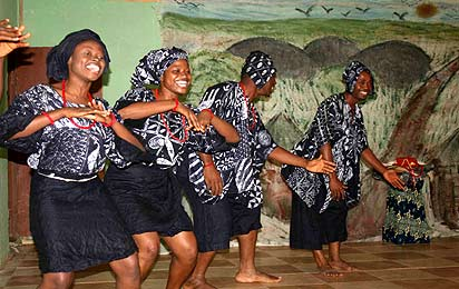 *A performance by FCT NYSC dance troupe.