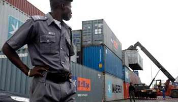 Image result for 5 docked over theft of 40-foot container worth N15m
