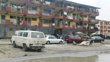 One of the buildings in Festac town