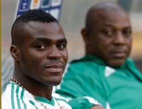 Emmanuel Emenike and Keshi